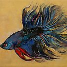 Betta Fish by Michael Creese