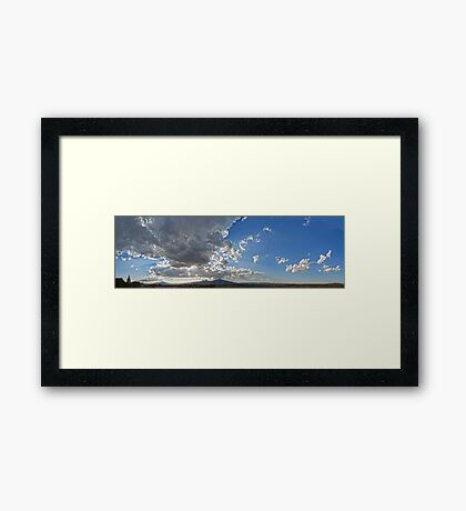 ©HCS Spring Sunset IA Framed Print