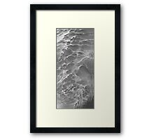 ©HCS The Phantom Menace Clouds IA Mammatocumulos Monochrome Framed Print