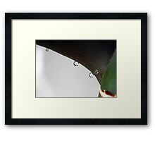 ©NS Dense Gravity IA Framed Print
