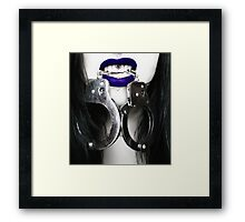 Fetish vampire alternate version Framed Print