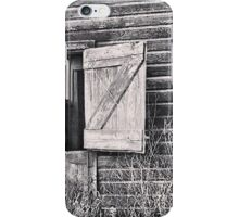 Swinging on the Barn Door iPhone Case/Skin