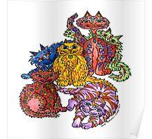 Crazy Cats Poster