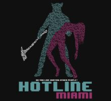 Hotline Miami - Cover Quotes by QuestionSleepZz