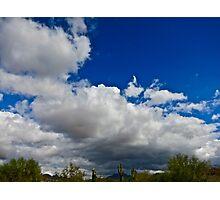"""Desert Clouds"" Scottsdale, Arizona Photographic Print"