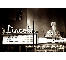 Lincoln Theater - Cheyenne WY Photographic Print