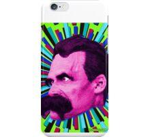 Nietzsche Burst 8 - by Rev. Shakes iPhone Case/Skin
