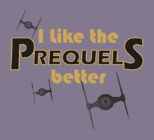 I like the prequels better Kids Tee