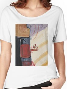 Girl on the balcony Women's Relaxed Fit T-Shirt