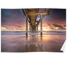 Fingal Sand Pumping Jetty Poster