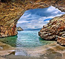 Cavebeach in Evia island by Hercules Milas