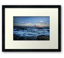 The Eye - Narrabeen Beach Framed Print