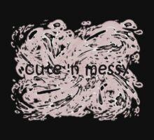 Cute 'N Messy Baby Onesie One Piece - Short Sleeve