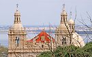 Monastery view from São Jorge Castle by terezadelpilar ~ art & architecture