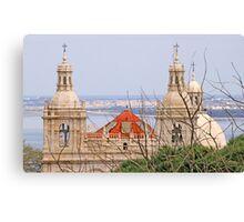Monastery view from São Jorge Castle Canvas Print