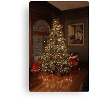 Christmas in Estes Park Canvas Print