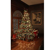 Christmas in Estes Park Photographic Print