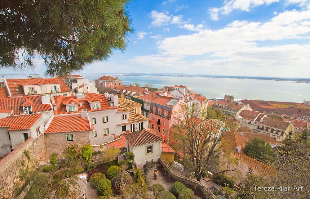 Lisbon view form the Castle by terezadelpilar~ art & architecture