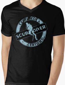 Certified Scuba Diver Mens V-Neck T-Shirt