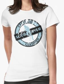 Certified Scuba Diver Womens Fitted T-Shirt
