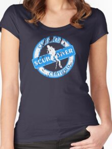 Certified Scuba Diver Women's Fitted Scoop T-Shirt