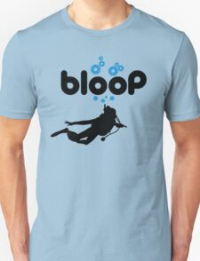 Diving: bloop Unisex T-Shirt