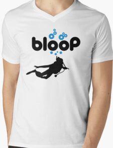 Diving: bloop Mens V-Neck T-Shirt