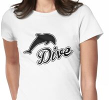 Dive Womens Fitted T-Shirt