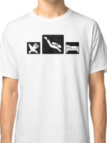Eat Dive Sleep Classic T-Shirt