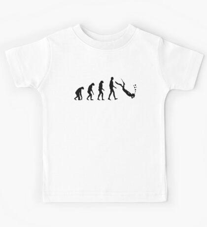 Evolution dive Kids Tee