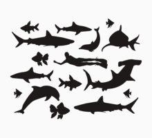 Diving Shirt Underwater Kids Tee
