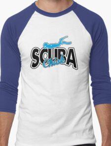 Scuba Chick Men's Baseball ¾ T-Shirt