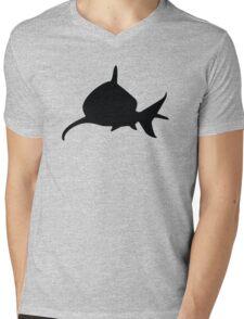 Shark Mens V-Neck T-Shirt