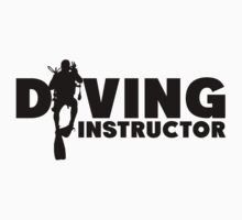 Diving Instructor Kids Tee