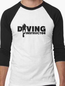 Diving Instructor Men's Baseball ¾ T-Shirt