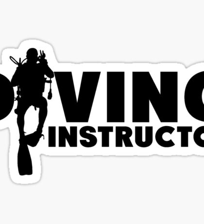 Diving Instructor Sticker