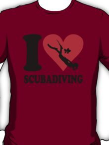 I love scubadiving T-Shirt