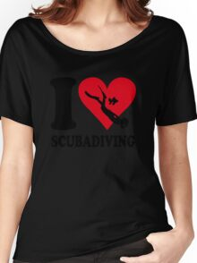 I love scubadiving Women's Relaxed Fit T-Shirt
