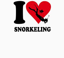 I love snorkeling Womens Fitted T-Shirt