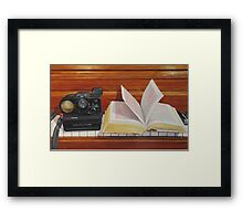 Reproduction Framed Print