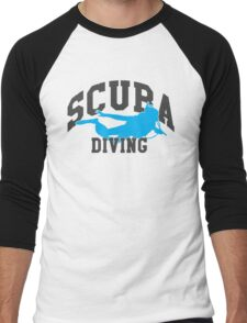 Scuba Diving Men's Baseball ¾ T-Shirt