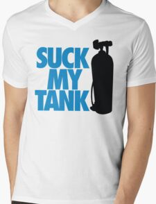 Suck my tank Mens V-Neck T-Shirt