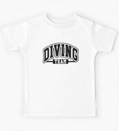Diving Team Kids Tee