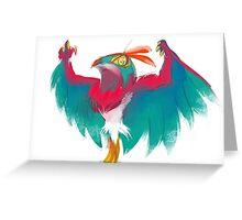 HAWLUCHA!  Greeting Card