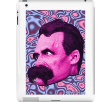 Nietzsche Mix 1- by Rev. Shakes iPad Case/Skin