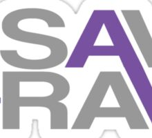 Save the rave Sticker