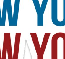 New York New York Sticker