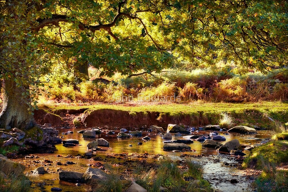 Autumn in the Lin Valley by John Edwards