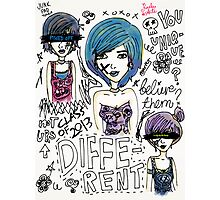 Be Different! Photographic Print