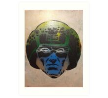 Dave Gibbon's Rogue Trooper in colour Art Print